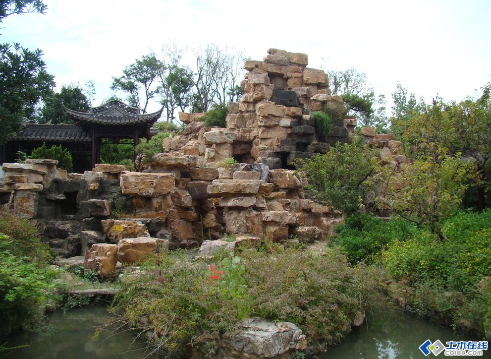 经验总结:园林叠石施工技术