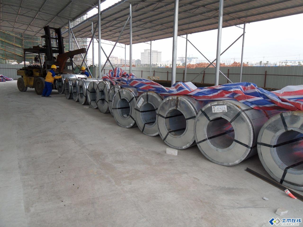 某大型項目暖通空調施工現場照片 風管系統