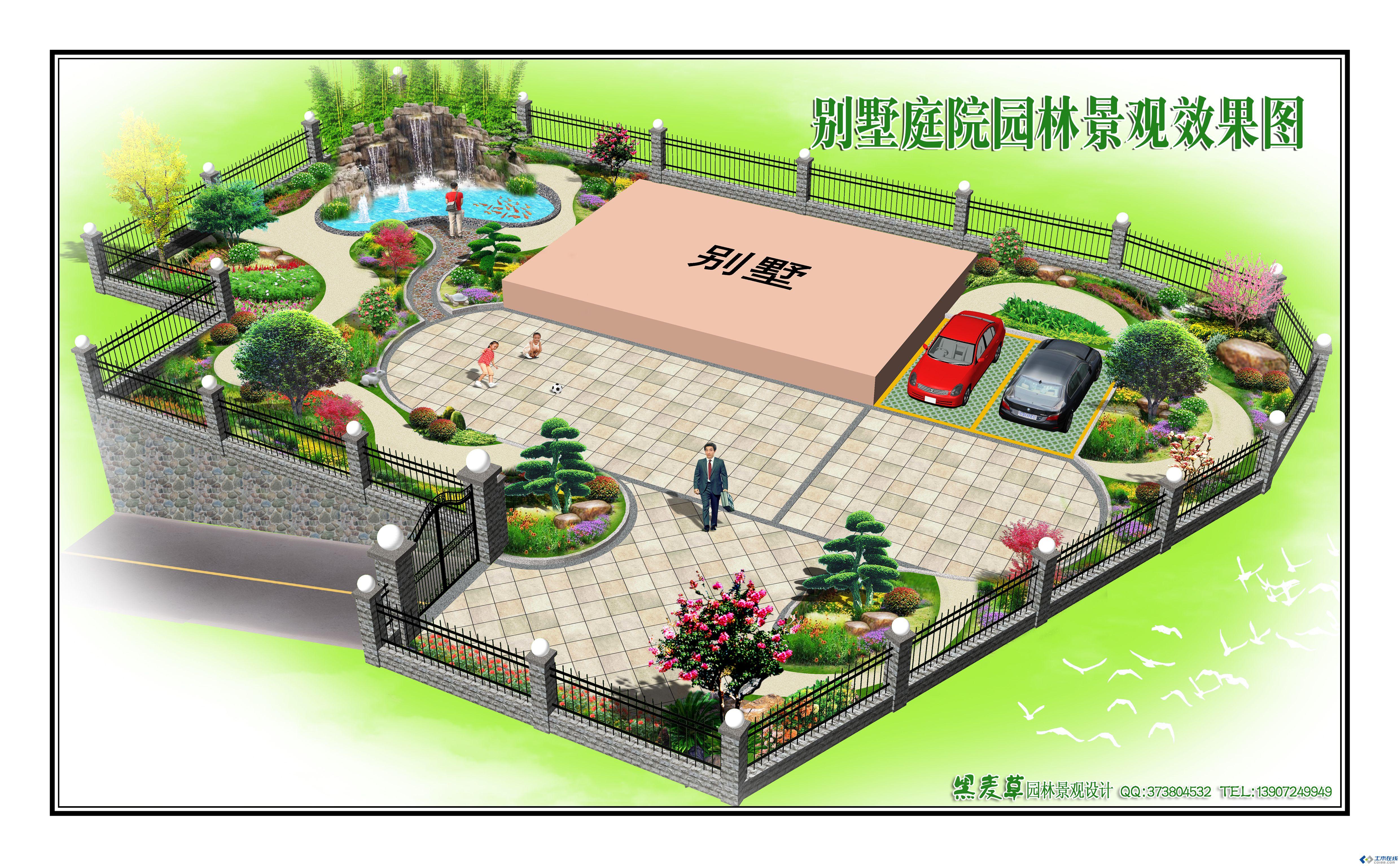 园林绿化设计cad
