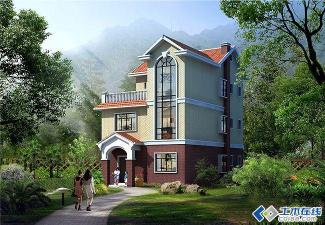 农村自建房,10*8平米,求户型设计图:这样的宅基地