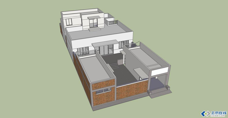 新农村自建房设计图一层带地下室展示