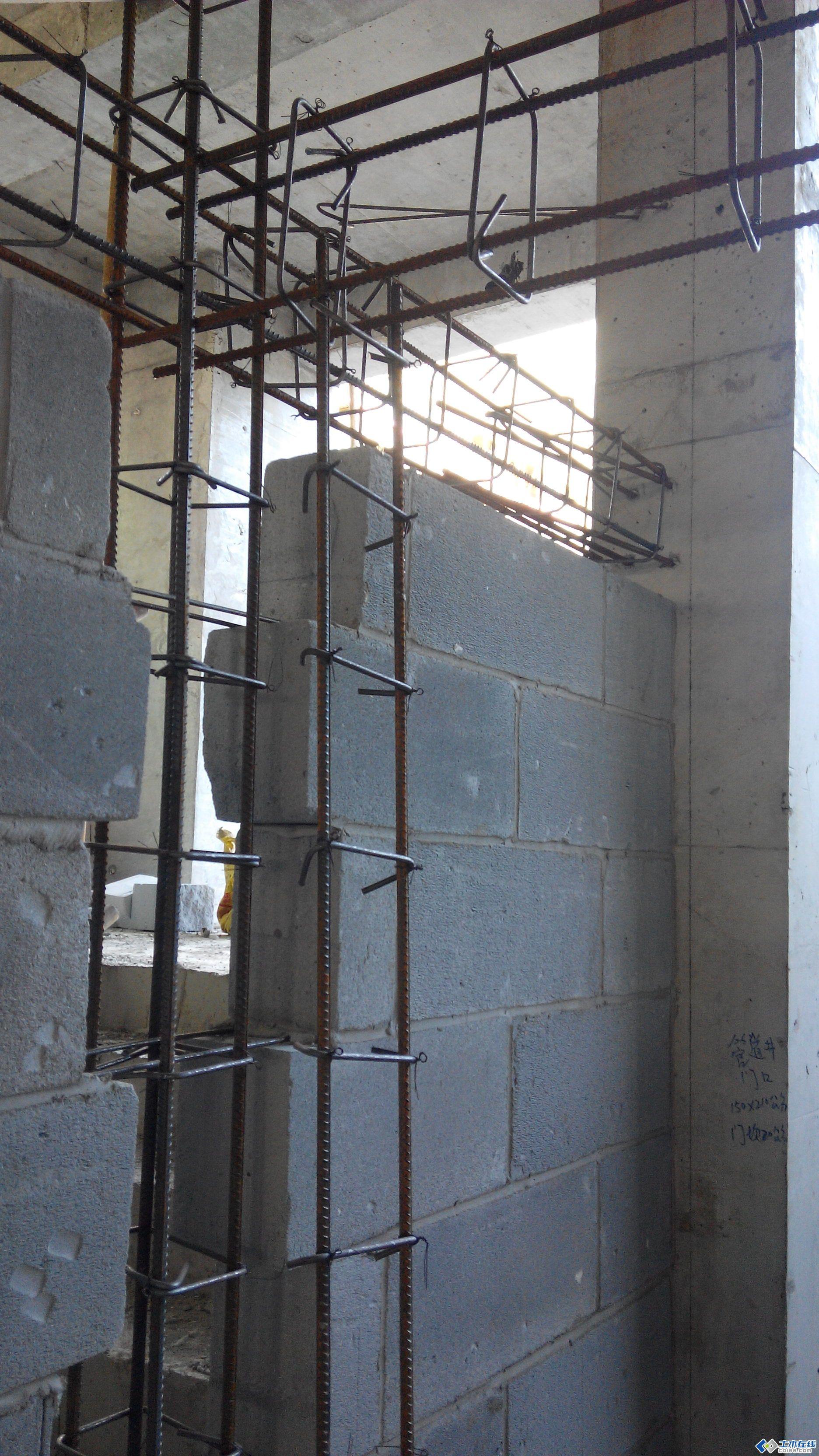 二次结构构造柱及圈梁的要求