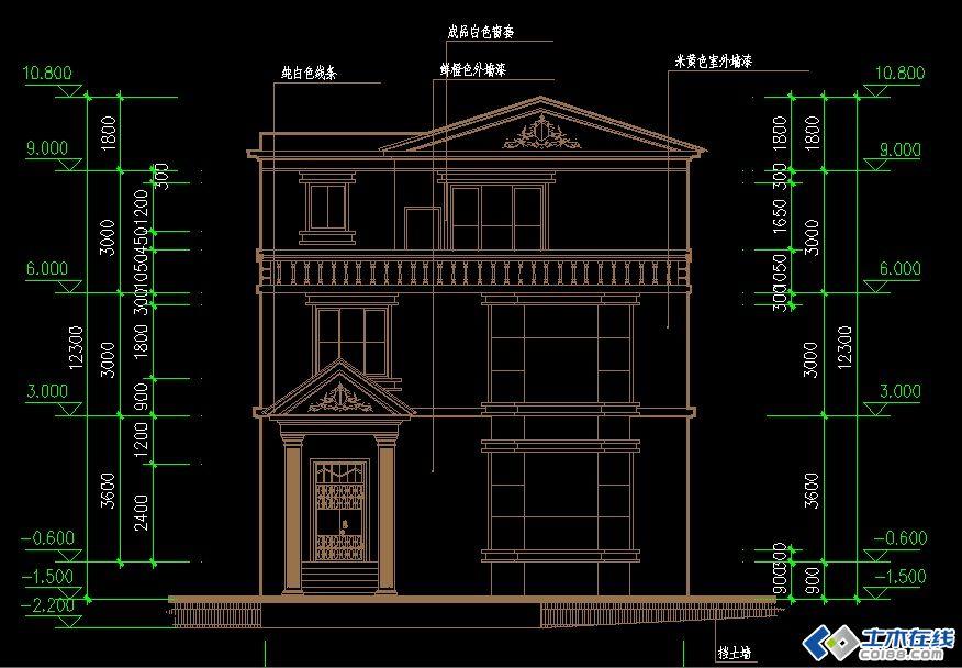 最新款农村别墅图纸设计