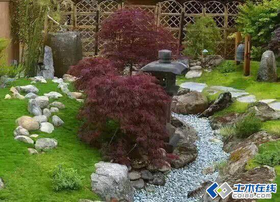 旱溪景观——没有水的溪水景观设计图片http://bbsfile.co188.