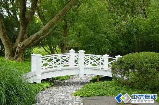 旱溪景观——没有水的溪水景观设计