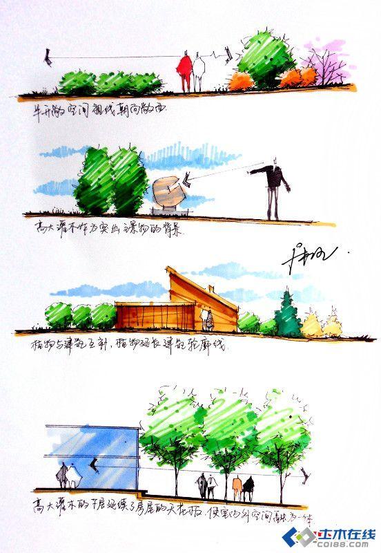 景观规划设计 植物配置方法