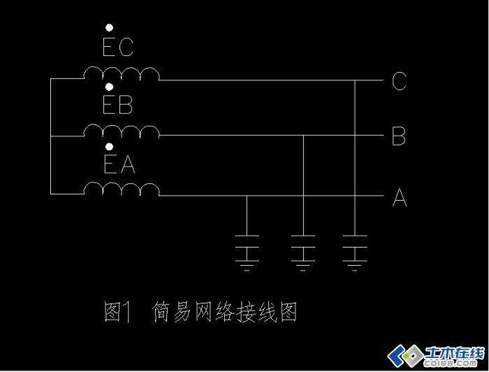 中性点不接地系统单相接地