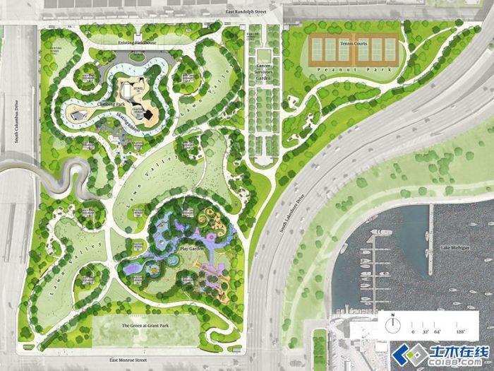 城市公园植物景观设计