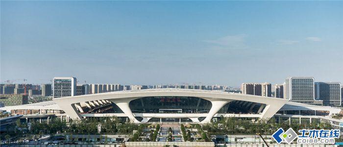 杭州东站 武汉中南建筑设计院csadi 第三设计所图片http://bbsfile.