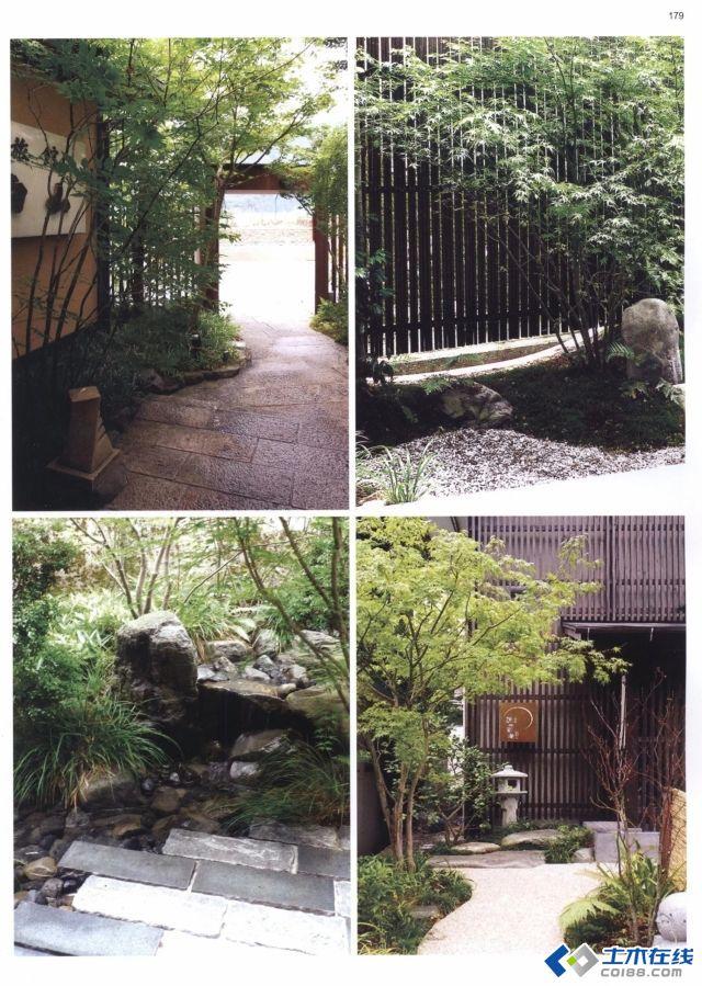 景与心会---日式庭院设计,幽静,静谧的小庭院图片4