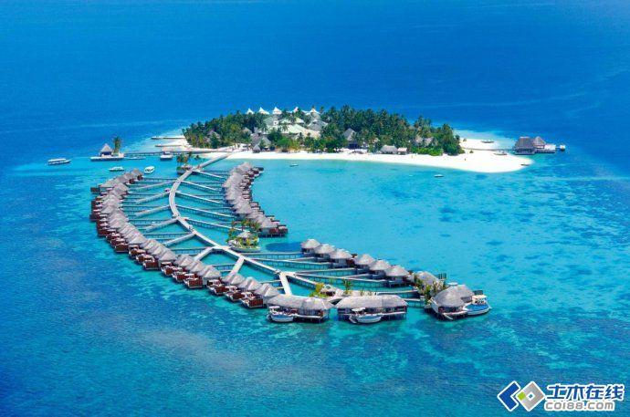 马尔代夫w宁静岛度假村景观设计