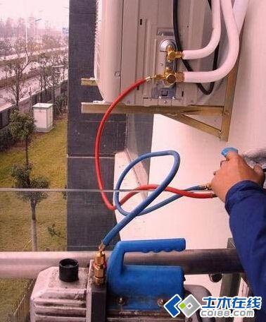 【暖通知识分享】变频空调安装抽真空步骤(图解)