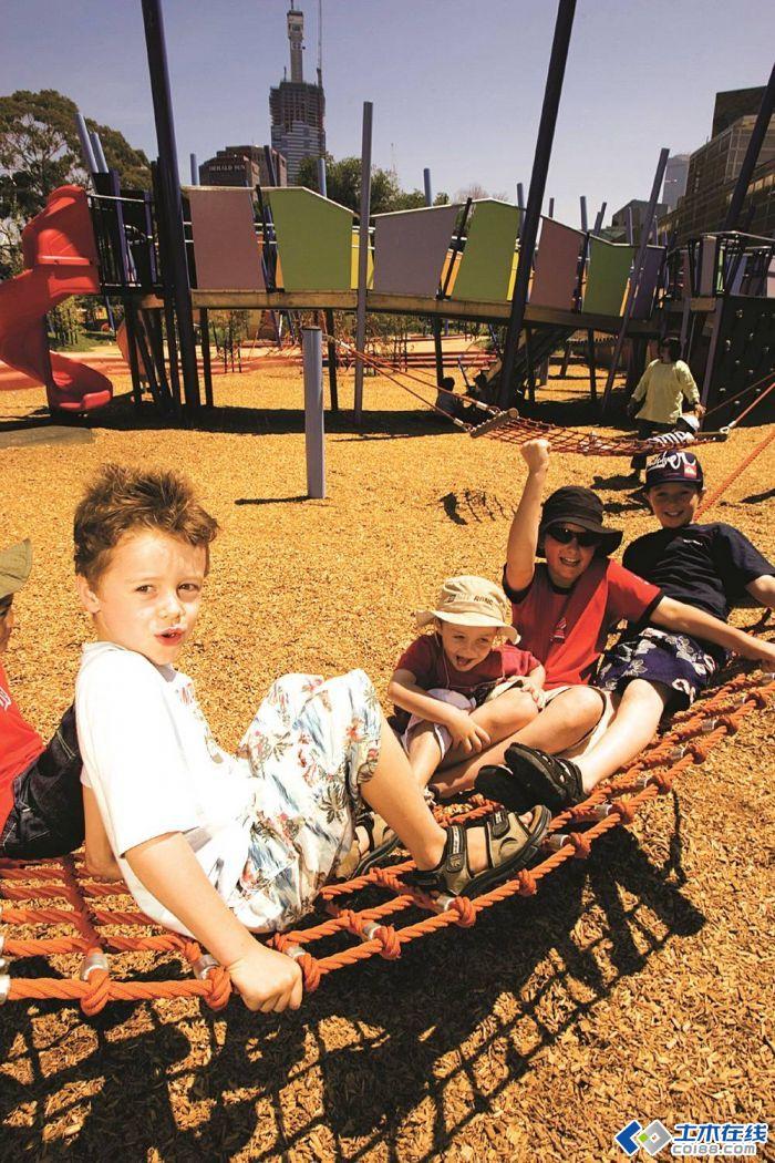墨尔本儿童艺术游乐园景观设计