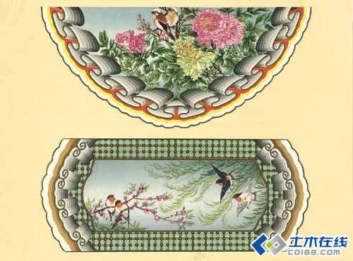 中国古建筑彩画