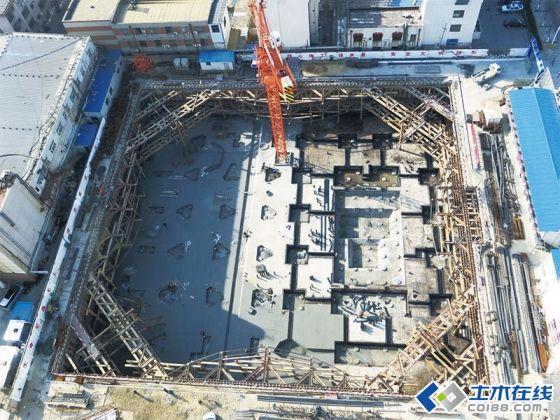 新型深基坑支护内支撑结构体系