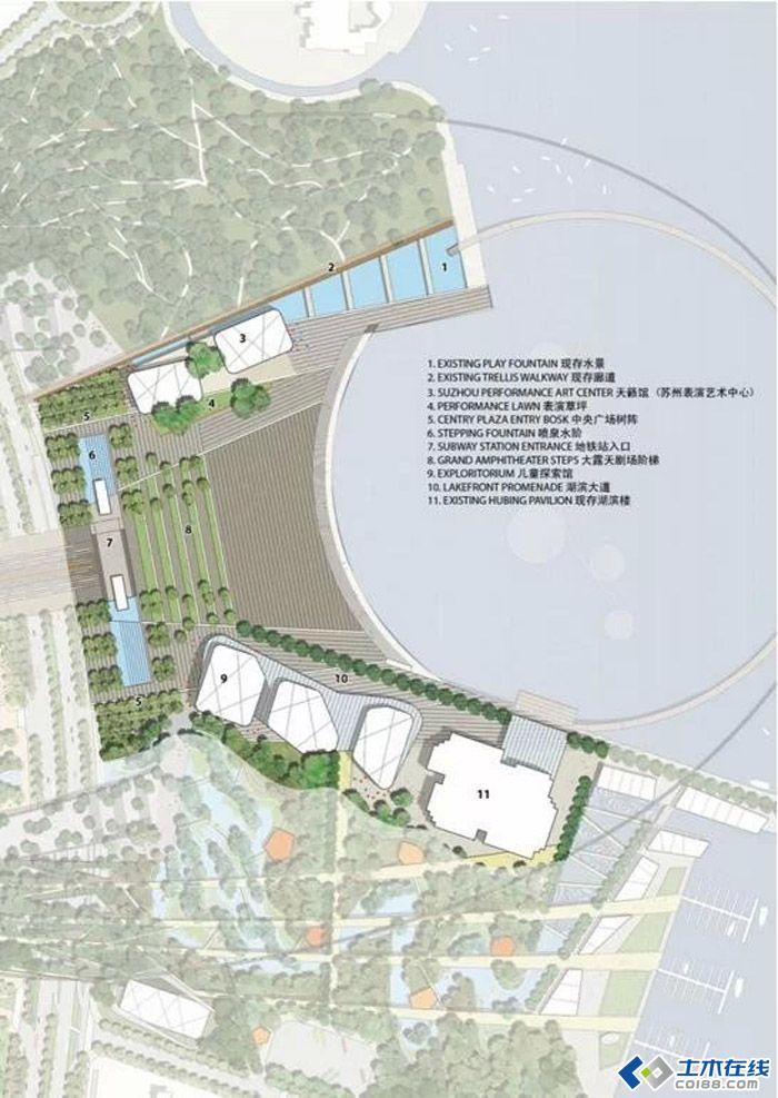 苏州中心广场建筑景观设计图片http://bbsfile