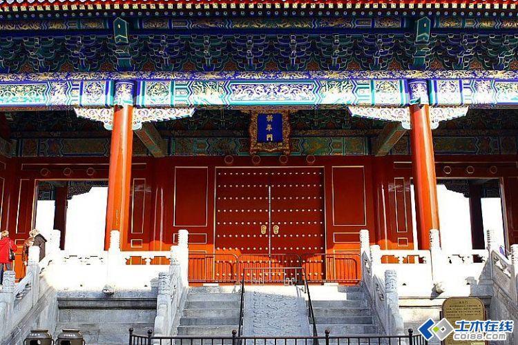 总结:中国古建筑柱子的比例关系