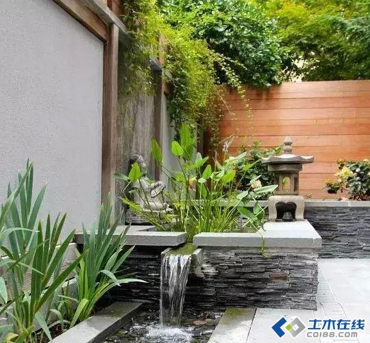 小庭院水景设计