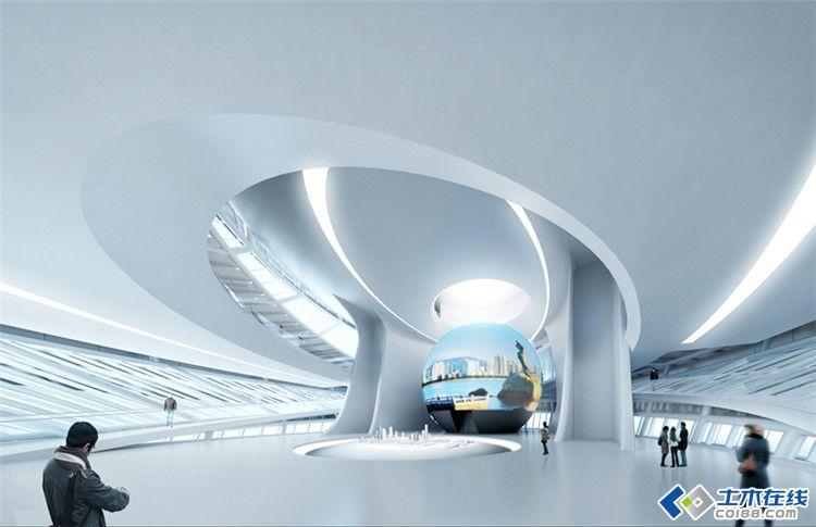 珠海航空新城规划展览馆