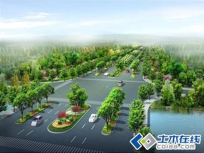 城市道路平纵线设计和横断面设计理念