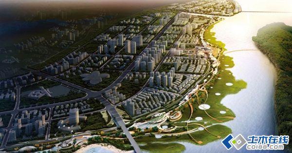 宁河东新区滨江景观带规划设计