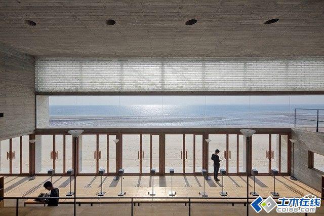 南戴河三联海边图书馆设计方案