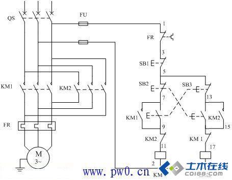 关于交流接触器接线图的实例讲解图片http://bbsfile