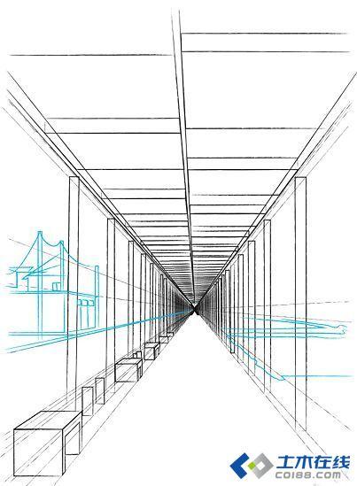 【建筑设计总结】第七期 五个方法技巧教你如何手绘透视图
