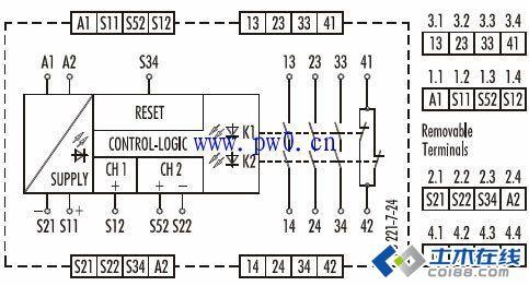热继电器接线图分享_土木在线