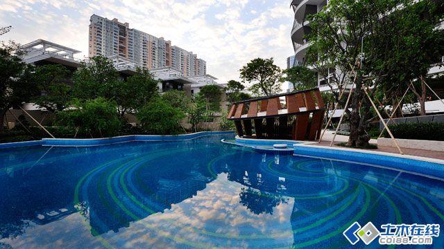 东南亚风格小区景观