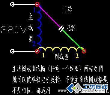 单相电机电容接线图_单相电机电容接线图交流分享