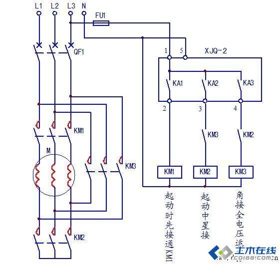晶闸管整流电路与调速器接线图