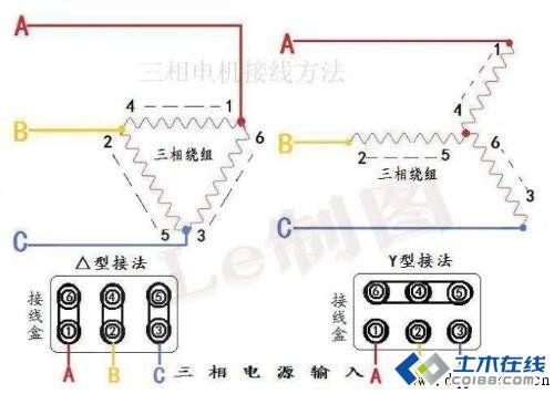 电动机星三角启动电路图集_星三角启动原理图_星三角启动接线图图片