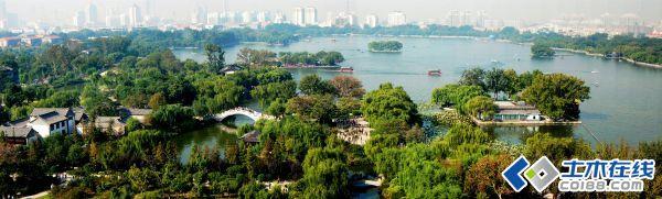 济南大明湖风景名胜区规划设计
