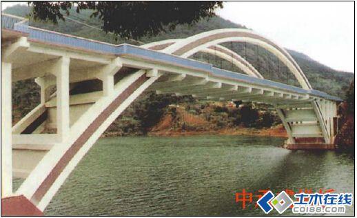 (6) 按上部结构的行车道位置: 上承式桥,中承式桥和下承式桥.