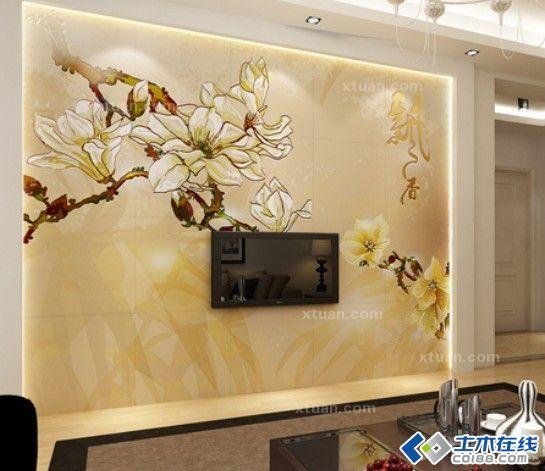一、富于变化的油漆、艺术喷涂背景墙也许你会感到奇怪,油漆不就是用来刷墙的吗?它怎么能算作独立的电视背景墙材料呢?其实油漆的色彩千变万化,一些有创意的设计师,巧妙地利用了它这种特性,设计出许多富有特色的电视墙。油漆、艺术喷涂的原理很简单,就是在电视背景墙后,采用不同的颜色形成对比,打破了客厅墙面的单调