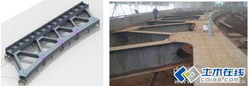 无锡金匮大桥钢结构工程下承式钢桁梁 钢箱梁结构体系