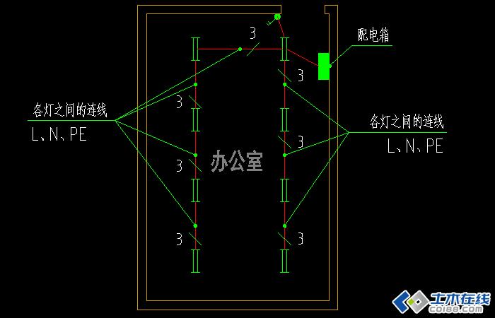 电气照明平面图如何确定导线根数【微鲁班电气】