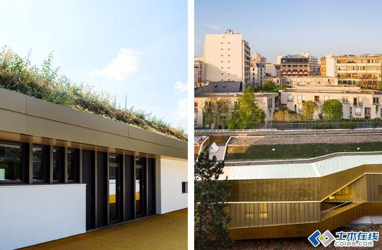 法国巴黎折纸幼儿园建筑设计欣赏