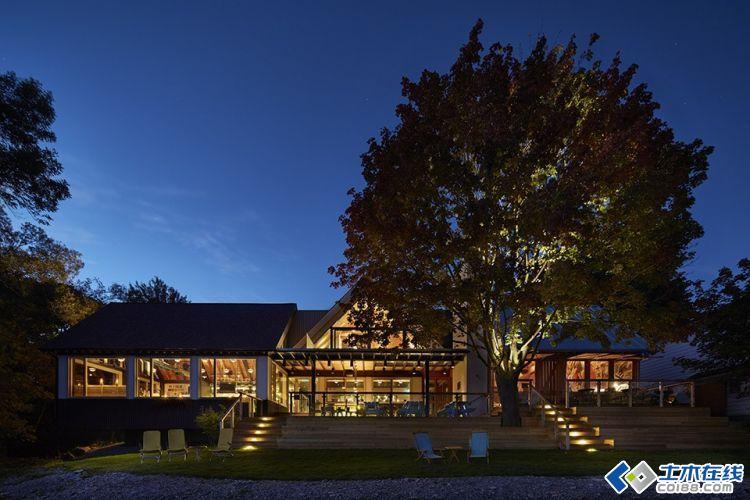 惊艳度假乡村酒店建筑设计欣赏-土木在线论坛