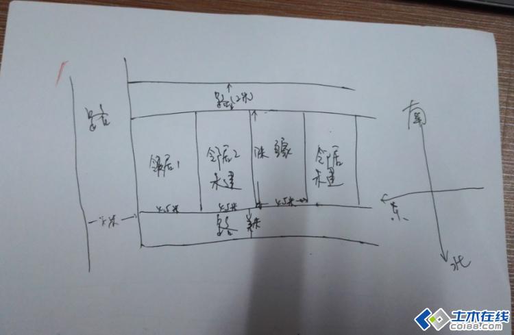 求广西农村4.5*17米长的条形地皮设计图