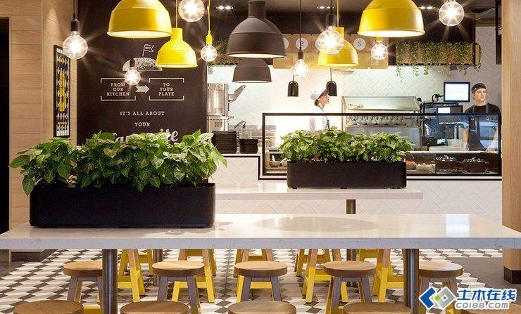 麦当劳CYT餐厅环境图形室内设计欣赏图片