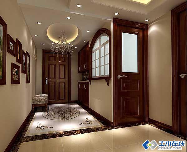 奢华欧式家装设计 180平米联排别墅装修