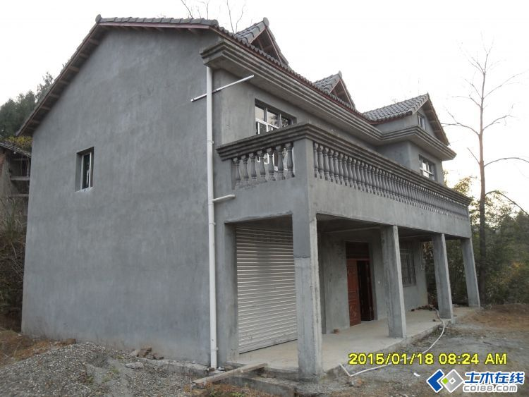 农村房子 外墙装饰 瓷砖搭配 别墅感觉高清图片