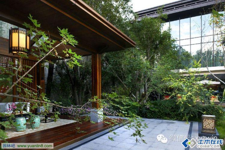 新中式景观经典案例之北京运河上的院子