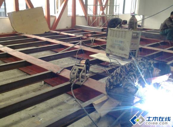 钢结构手工电弧焊焊接平焊图片http://bbsfile
