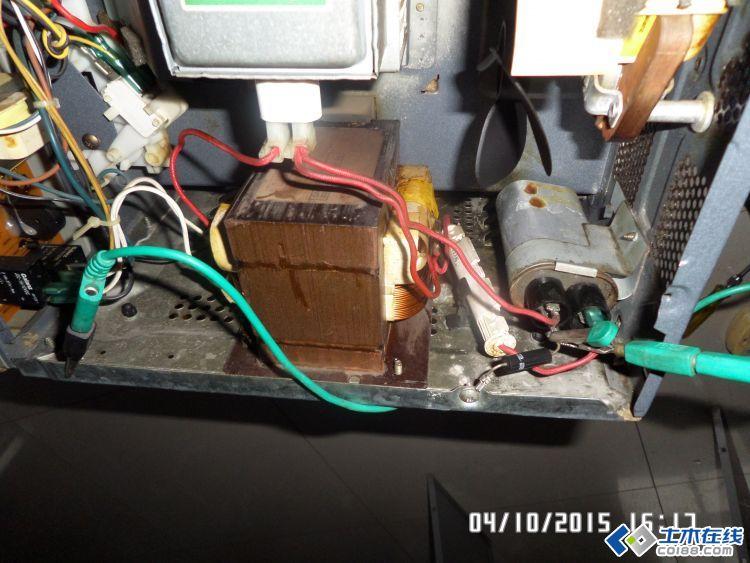 微波炉高压电容接线图_微波炉高压电容接线