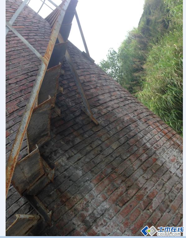 烟囱钢结构螺旋楼梯