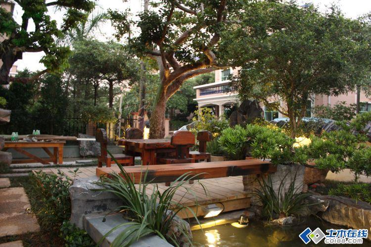 广东佛山中式别墅庭院实景图图片http://bbsfile.co188.