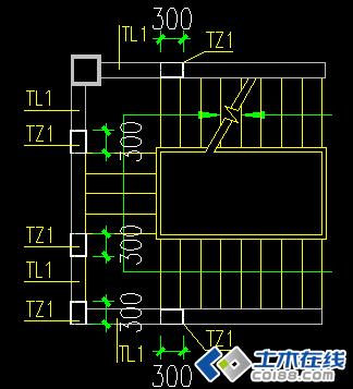 关于u型三跑楼梯在pkpm里面建模的问题